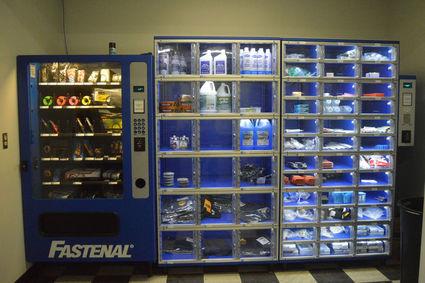 Medical Lake Fire Department Utilizes Vending Machines